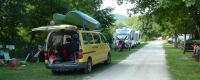 emplacement camping car lac chalain